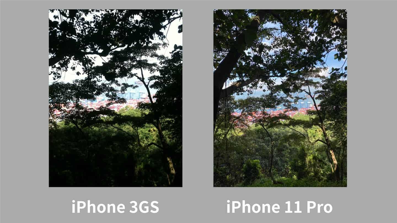 iPhone 11 Pro vs. iPhone 3GS