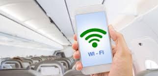 Wi-Fi en un avión